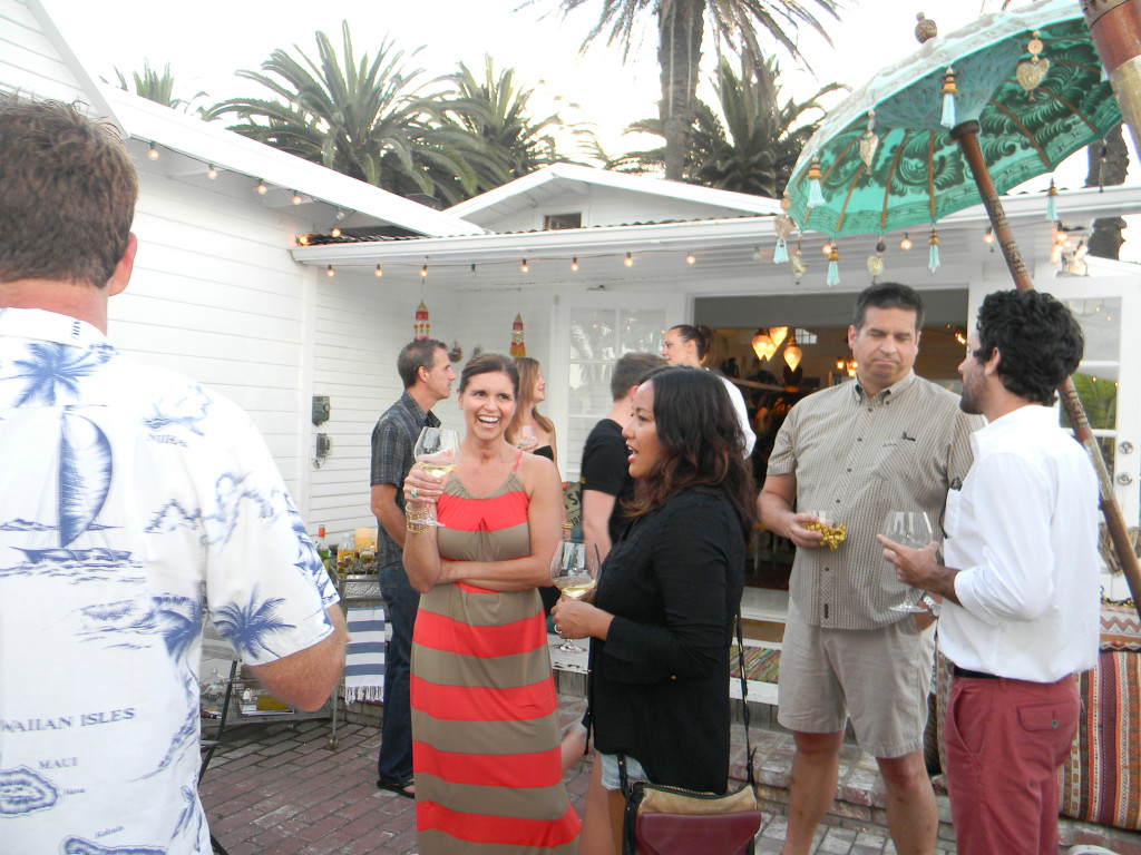 A lark at the beautiful Cleobella Boutique in Sunset Beach